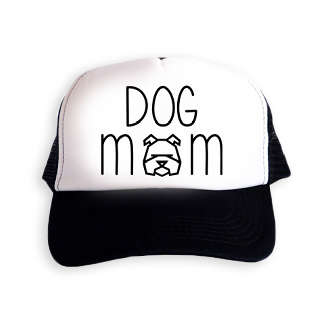 Czapka 'DOG MOM'